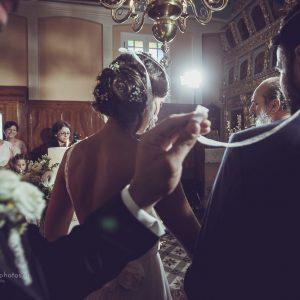 wedding photography from the ceremony St. Nikitas, Lefkada Island
